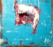 ''Little Yod''Oil on canvas - 20x20cm